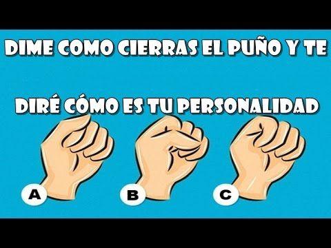 Dime como cierras el puño y te diré cómo es tu personalidad!