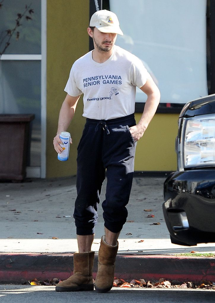 Shia makes me feel up