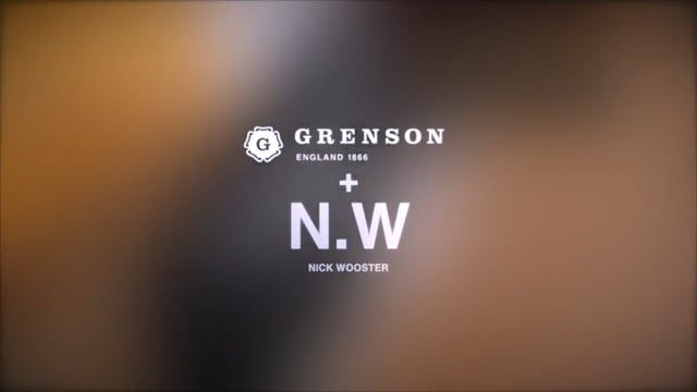 EXCLUSIVE - Grenson collaboration with menswear style maverick Nick Wooster on a new 6-piece shoe collection.