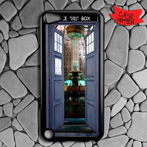 Police Box Tardis Lab Doctor Who iPod 5 Black Case