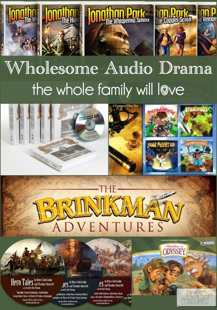 Who doesn't love adventure, history, and science all rolled into action packed CD's? If you haven't tried audio dramas, now is the perfect time to start!