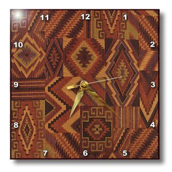 Special Offers - 3dRose dpp_151041_3 Southwestern Adobe Pattern Wall Clock 15 by 15-Inch - In stock & Free Shipping. You can save more money! Check It (September 30 2016 at 02:23AM) >> http://wallclockusa.net/3drose-dpp_151041_3-southwestern-adobe-pattern-wall-clock-15-by-15-inch/