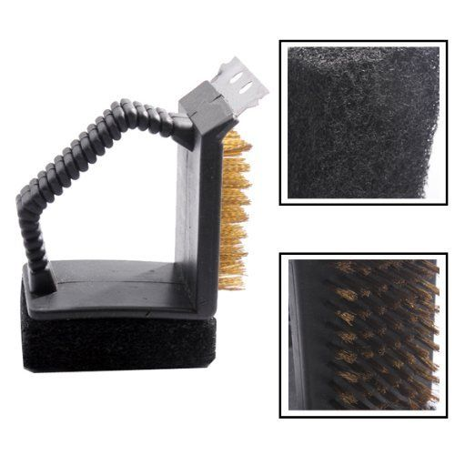 Vktech Steel Wire Cleaning Brush Sponge Shovel Set BBQ Barbecue Grill Cleaner by Vktech. $5.00. Steel wire cleaning brush, sponge and small shovel is for BBQ cleaning. Three cleaning ways help you clean your BBQ grill effeciently. 1x BBQ grill cleaner. Material of Handle: Plastic. 100% Brand New and High Quality. •100% brand new and high quality •Steel wire cleaning brush, sponge and small shovel is for BBQ cleaning use. •Three cleaning ways help you clean yo...