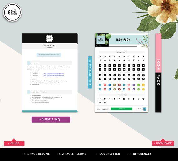 resume template - professional cv template