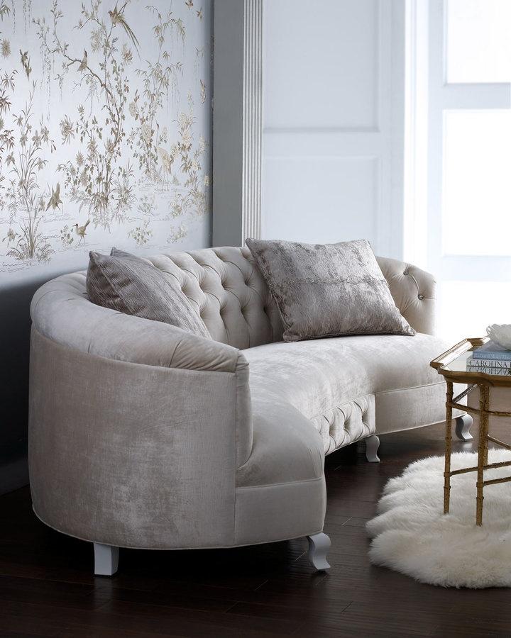 Haute House Monroe Sofa 19 best Curved