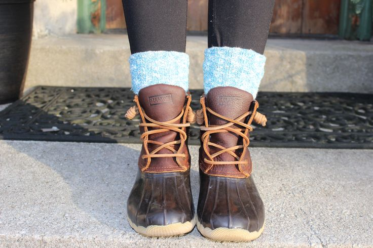 sperry duck boot outfit - Google Search