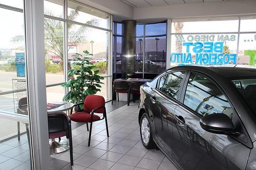 John Hine Mazda San Diego Car Dealerships Showroom Inside
