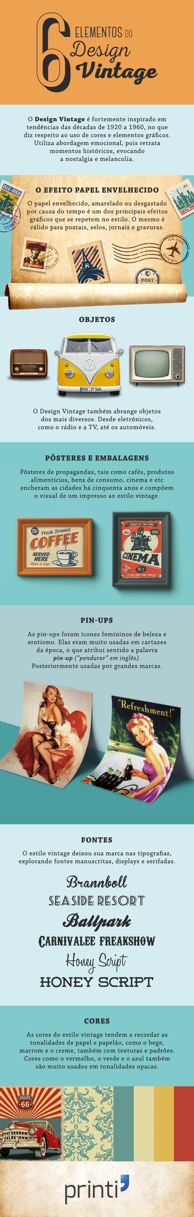 22 best infogrfico images on pinterest business management 6 elementos do design vintage saiba mais sobre um dos estilos visuais mais fandeluxe Choice Image