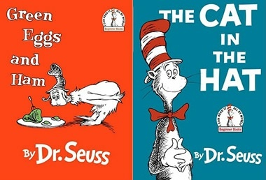 Green Eggs And Ham V The Cat In The Hat Which Dr Seuss Book Is Your Favorite Childrens Books Music Childrens Books Kids Book