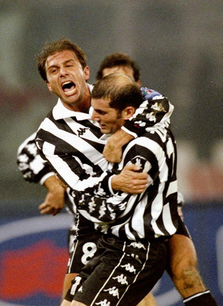 Conte and Zidane