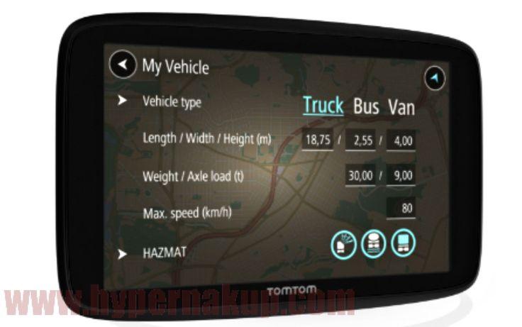 Navigácia TomTom GO Professional Trucker 620 EU
