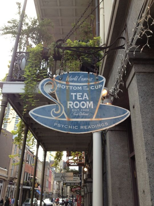 Bottom of the Cup Tearoom offers both delicious tea and tarot card readings. It's a great diversion for the afternoon.