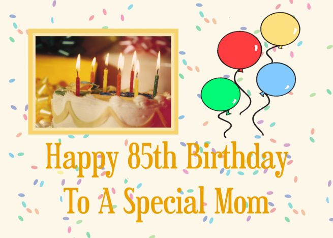 Happy 85th Birthday To A Special Mom Card Ad Sponsored Birthday Happy Card Birthday Card For Aunt Birthday Cards For Brother Birthday Cards For Mom