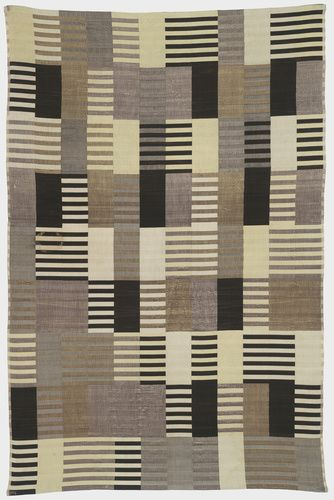 Anni Albers (American, b. Germany, 1899-1994). Wall Hanging, 1926. Silk (three-ply weave). 70 3/8 x 46 3/8 in. (178.8 x 117.8 cm). Association Fund. Photo: Katya Kallsen.