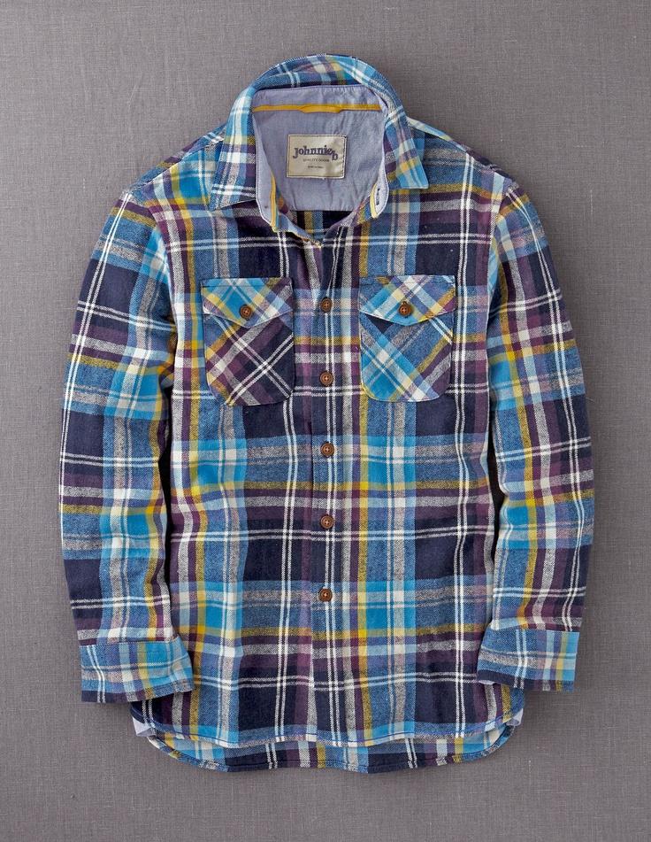 Brushed Checked Shirt