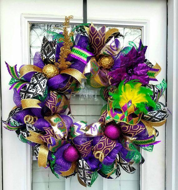24 best Mardi Gras Decorations images on Pinterest | Mardi ...