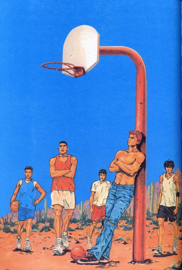 Slam Dunk - Illustration Book