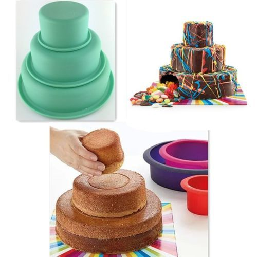 3-Layers-Round-Cake-Pan-Set-Silicone-Baking-Mold-for-Wedding-Party-3-034-6-034-8-034