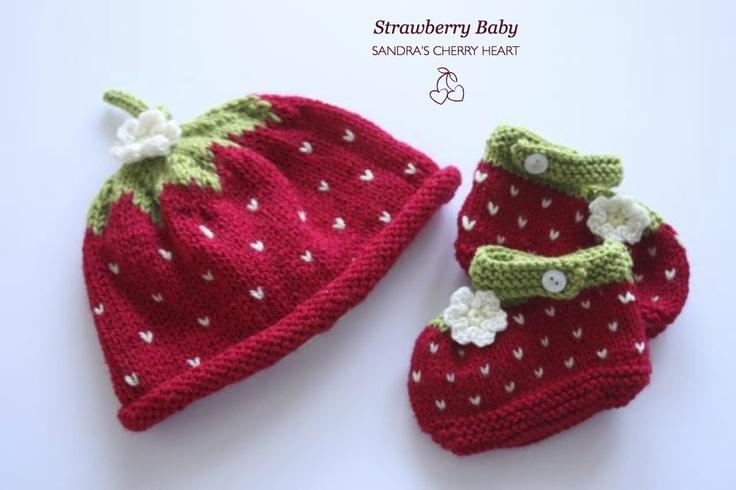 Cherry Heart: Strawberry Baby...too cute!!