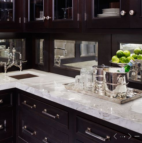 De Giulio Kitchen Design Kitchens Butler 39 S Pantry Espresso Stained Glass Front Kitchen