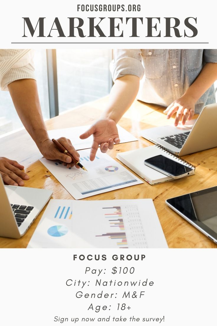 Focus Group For Marketers With Images Focus Group Focus Paid