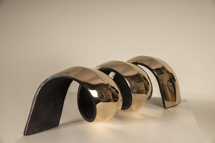 Rotation gepolijst bronzen unicum