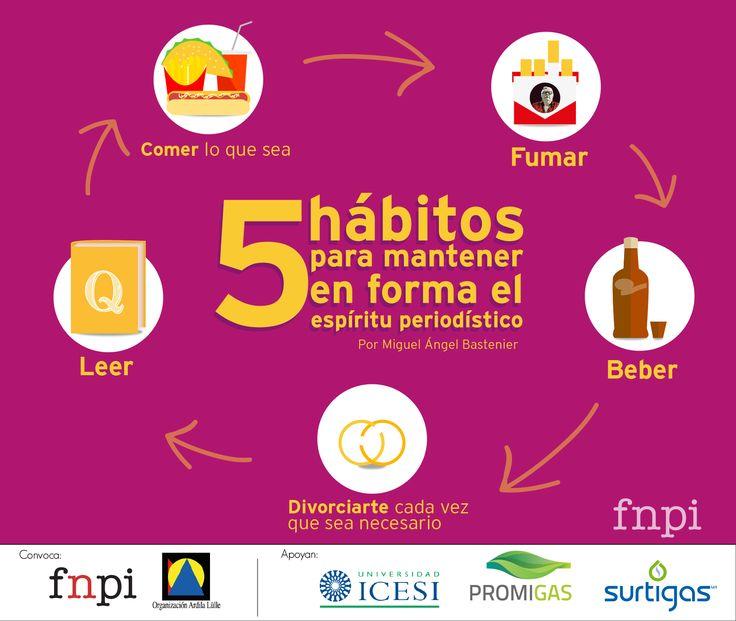 Descubre aquí por qué Miguel Ángel Bastenier ha seleccionado estos hábitos: http://www.fnpi.org/index.php?id=72&tx_ttnews%5Btt_news%5D=2368&cHash=8ef78630b464f5ad562b6878420183c0 ¿Qué opinas?, ¿cuales añadirías o eliminarías de la lista? #Periodismo #Bastenier #PensandoEnPeriodismo