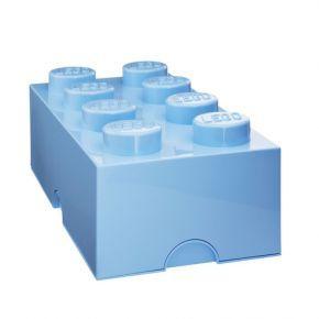 Det behöver inte längre vara ett bekymmer att hålla dina barns rum städade. LEGO® förvaringssystem gör det enkelt och roligt för barnen att hålla ordning. De stora förvaringslådorna är designade för att gå att stapla, precis som vanliga legobrickor. Använd dem för dekoration, lek, bygg och ha roligt eller använd dem som förvaringslådor. Mått: B 500 x L 250 x H 180 mm.
