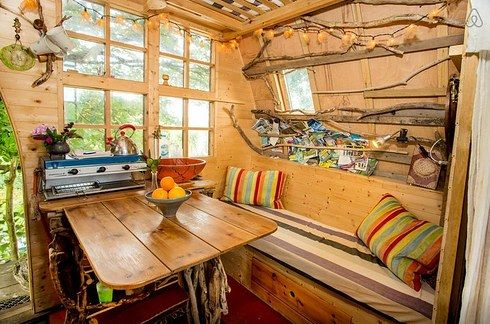 The Tree Sparrow House in Cornwall, England (United Kingdom) | 27 Tiny Houses You Can Actually Stay In