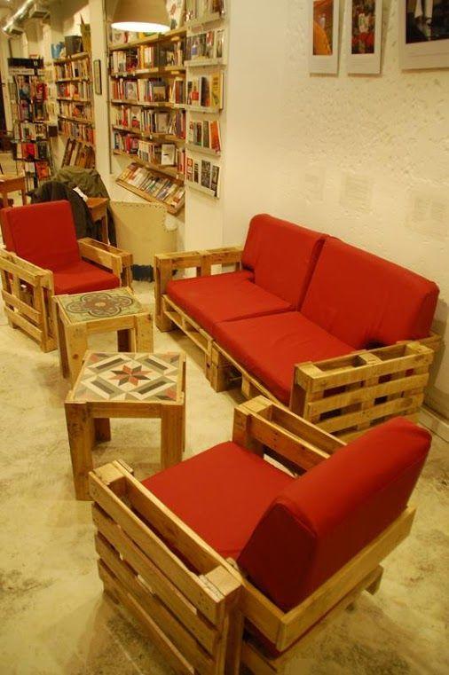 Sofas realizados con Palets - Decoracion Hogar - Google+
