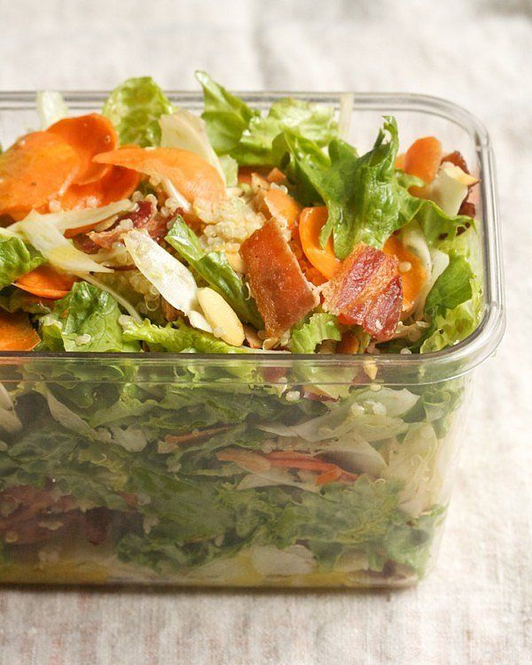 ... Save You From a Sad Desk Lunch | Quinoa, Apple Salad and Quinoa Salad