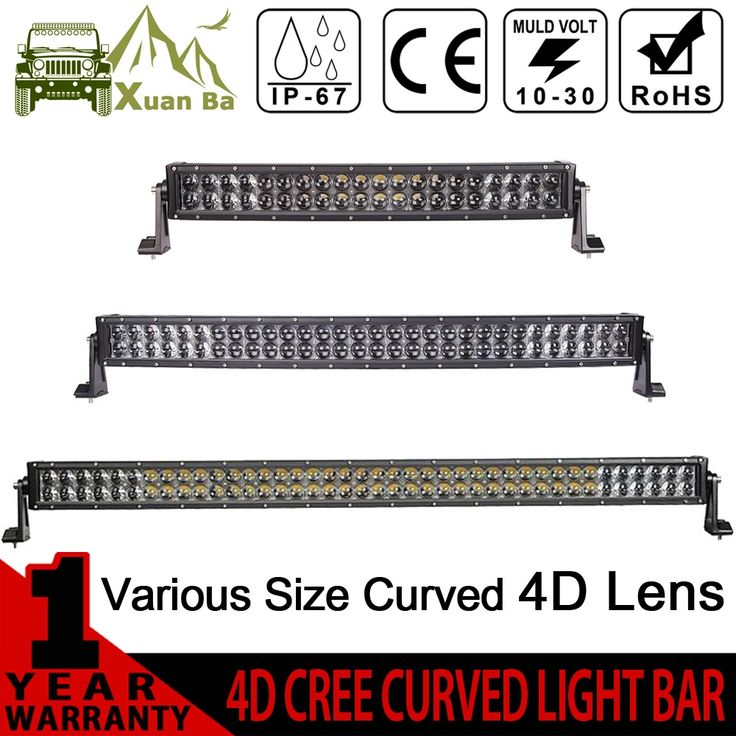 69.70$  Know more - http://aideu.worlditems.win/all/product.php?id=32778130739 - XuanBa 4D 52 inch 500W Curved LED Light Bar 12V 4x4 Off road Light Bar For 24V Truck 4WD UTV ATV SUV 400W Led Bar Offroad Lamp