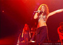 "-warlock: "" 30 Day Shakira Challenge Day 13: Your favorite Shakira concert - ""Oral Fixation Tour"" """
