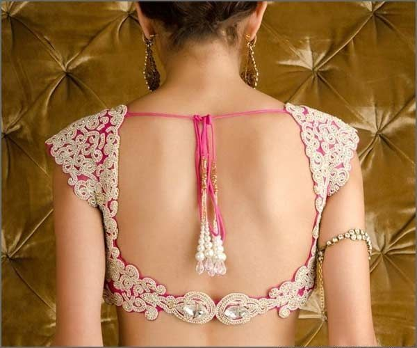 Stylish Blouse Back Neck Designs 2016 Catalogue For Indian Saree | Latest Fashion Trends in India