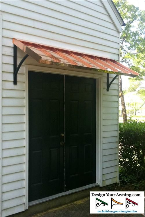 The Classic Copper Awning - The Classic Gallery - COPPER ...