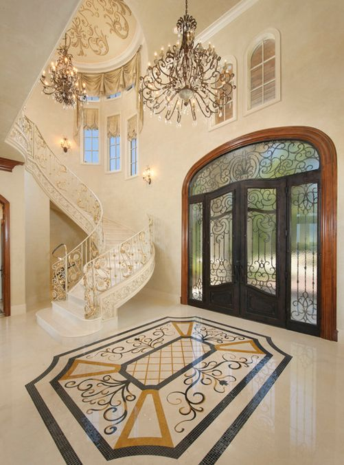 40 Luxurious Grand Foyers For Your Elegant Home: 1000+ Images About Interior Design: Old World/Traditional
