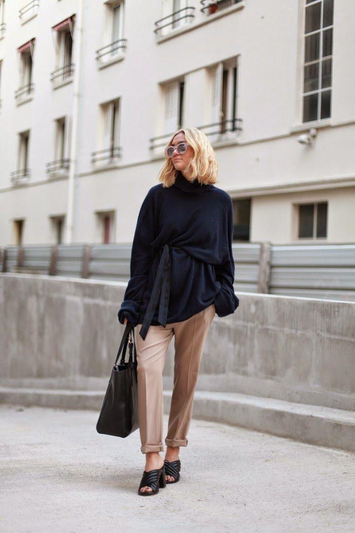 adenorah- Blog mode Paris sac André globe-trotteur - Senso shoes - Balenciaga pants - MMMx HM knit - Make My Lemonade x Jimmy Fairly sunglasses