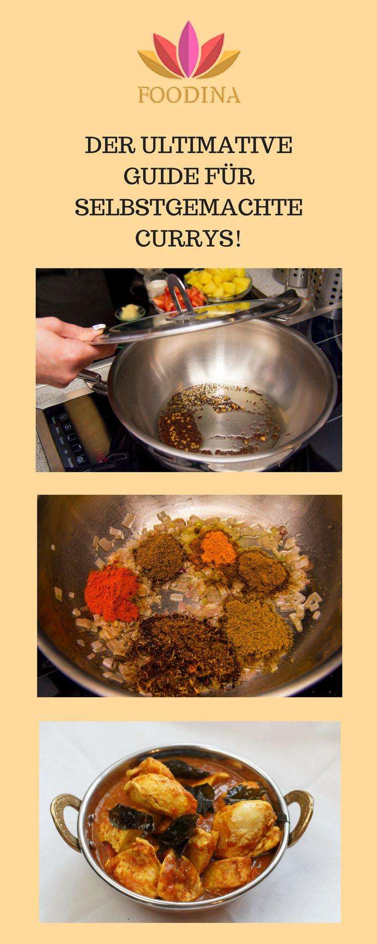 Die ultimative Anleitung, wie du ganz einfach indische Currys selber machen kannst!