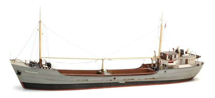 modellbahnshop-lippe.com Artitec 50.130 Coastal freighter