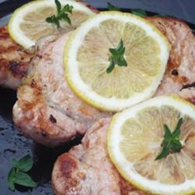 Grilled Lemon Herb Pork Chops: Fun Recipes, Simple, Steaks, Broiled, Chops, Savory Recipes, Favorite Recipes, Taste, Ovens