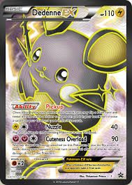 dedenne ex card - Google Search