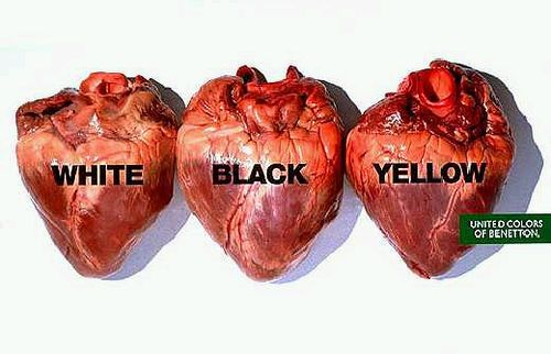 Pubblicità - Oliviero Toscani Studio - United Colors of Benetton