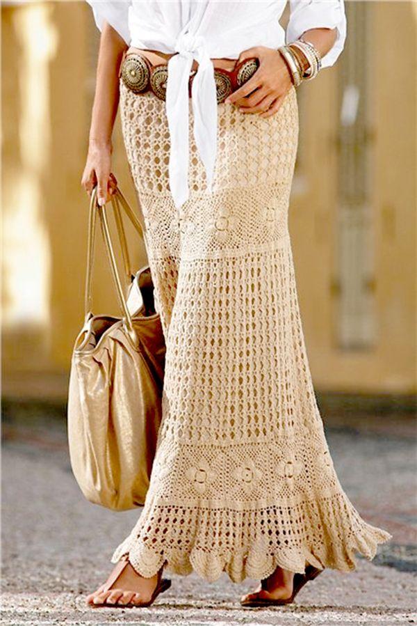 Top 10 Crochet Skirts 》》patterns
