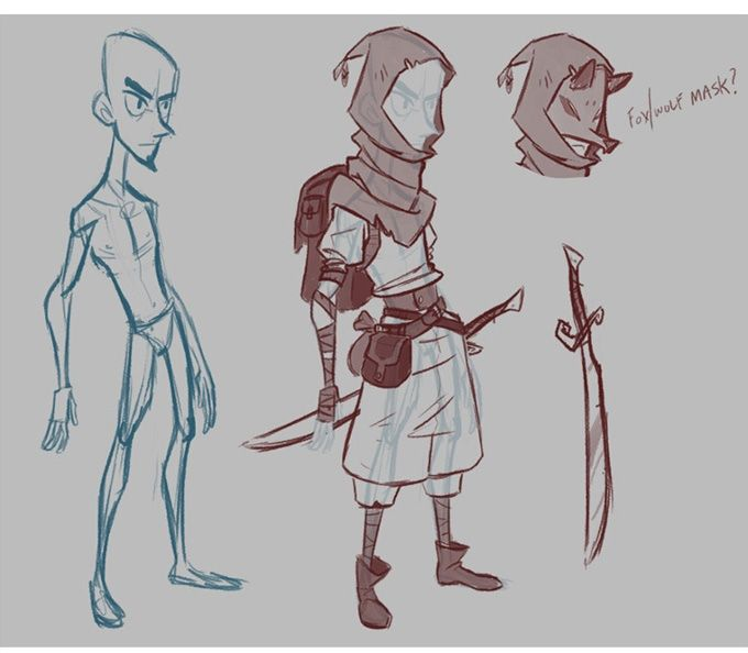 Character Design Quarterly Kickstarter : Best images about referências cartoon on pinterest