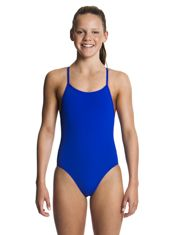 Still Speed Swimwear Girls Diamond Back One Piece