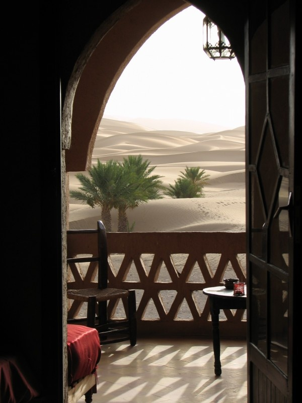 sahara view - Westelijke Sahara - Merzouga - Marokko