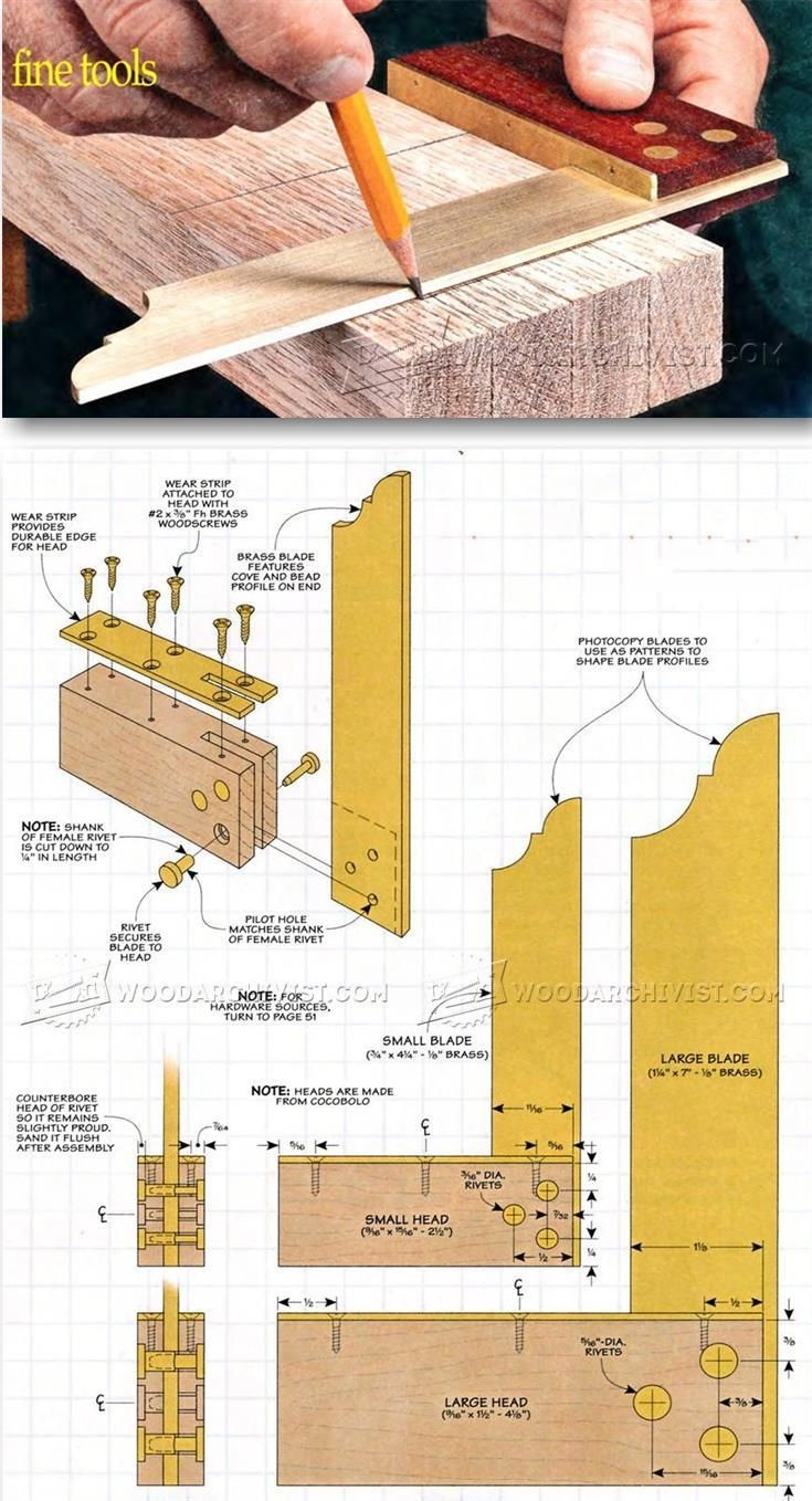 DIY Try Square - Marking and Measuring Tips, Jigs and Techniques | WoodArchivist.com