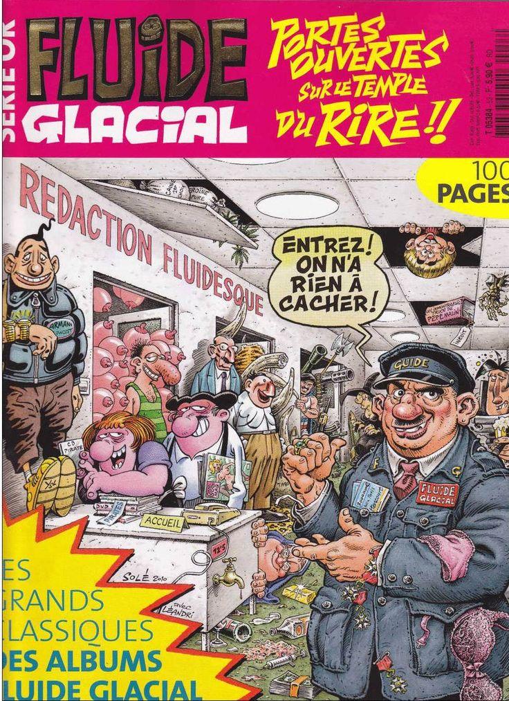 Souvent 81 best Fluide Glacial - Série Or images on Pinterest | Album  MJ38