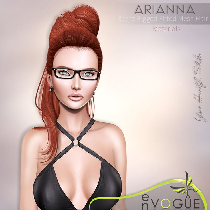 https://flic.kr/p/TZaWbP | ● ❤️ ● enVOGUE - ARIANNA Hair - Bento ● ❤️ ● | ♥ ═ NEW RELEASE in Mainstore! ═ ♥  ARIANNA Hair - BENTO, Fitted & Rigged Mesh - with Materials Option!!!  This hairstyle is available in 96 colors, root & 16 OMBRE colors, and can be changed via HUD.  BLOG : envogue-hairstyle-studio.blogspot.com /2017/04/arianna.html  Try DEMO from MKP : marketplace.secondlife.com/p/enVOGUE-HAIR-Arianna-DEMO/11...  Take Limo : maps.secondlife.com/secondlife/enVOGUE/32/168/24  E...