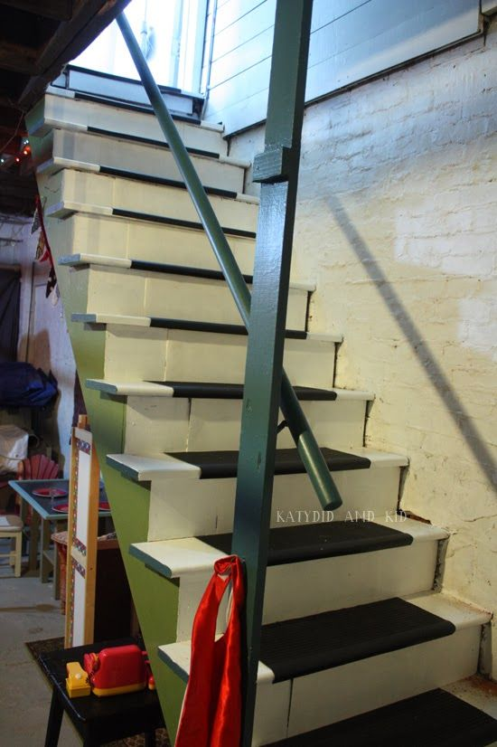 Katydid and Kid: Winter Boredom Buster: Unfinished Basement Playroom